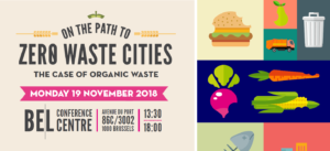Plakat von Zero Waste Cities Konferenz